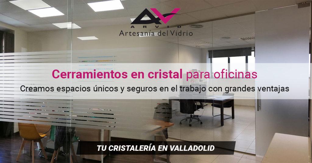 Cerramientos en cristal para oficinas